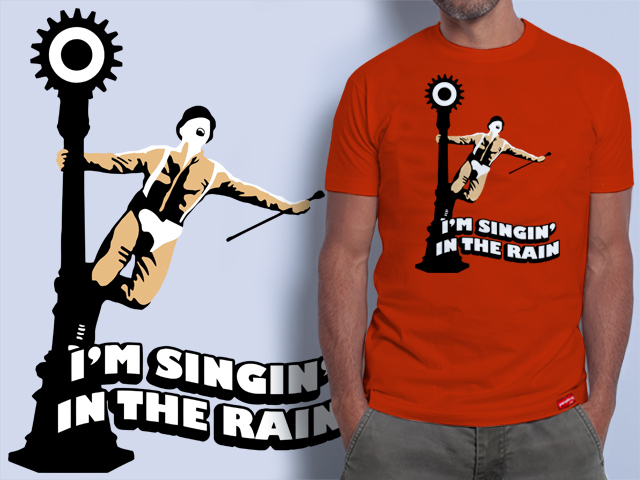 A Clockwork Orange Singin' In The Rain