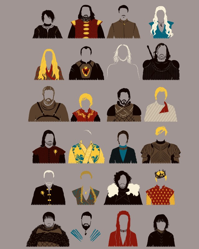 Game of characters