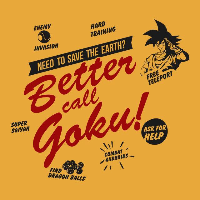 Better Call Goku