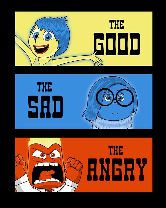 The Good, The Sad, The Angry