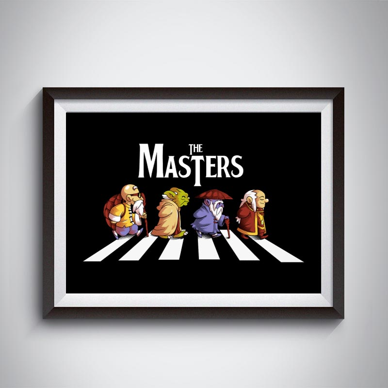 Posters The Masters de IceDust