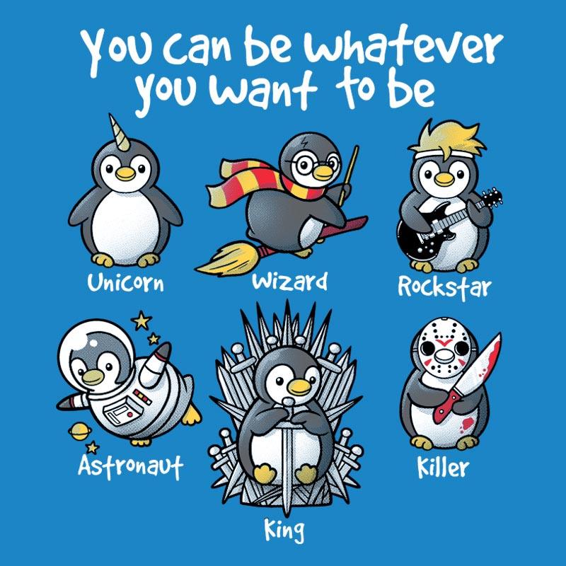 Be a Penguin de Pampling.com